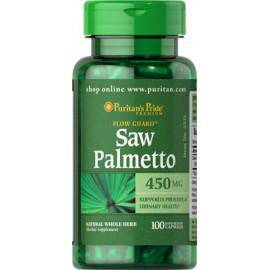 Saw Palmetto Palma sabalowa 450mg 100kaps, Puritans