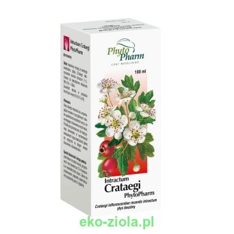 Wyciąg z Głogu - Intractum Crataegi 100ml, PhytoPharm