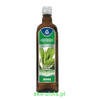 Sok Aloes 100% vital 500ml -Oleofarm