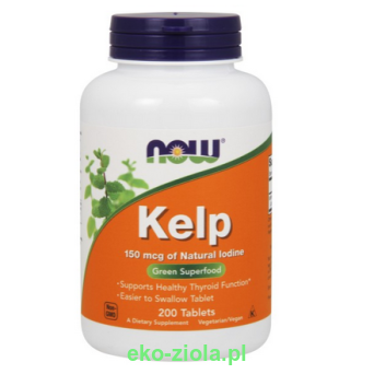 NOW KELP 150mcg  200tab