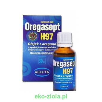 Oregasept H97 Olej z Oregano 100ml, Asepta
