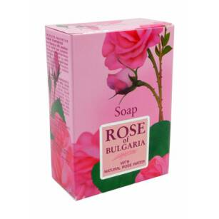 ROSE Mydło kostka 100ml,  BIOFRESH